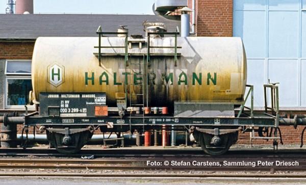 "Liliput L 235354 H0 Kesselwagen, DB, 267 hl Tank, ""HALTERMANN"", Ep.IV DC"