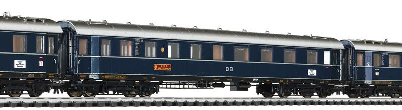 Liliput  L 330501 H0 3tlg. Perswg.-Set F Zug Dompfeil, DB, Ep.III DC