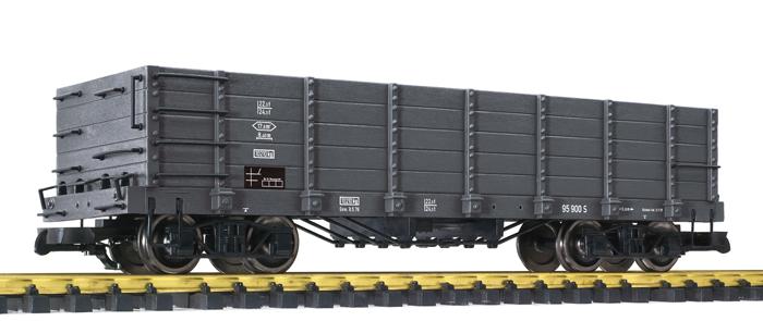 Liliput L 95900 Spur G Hochbordwagen, dunkelgrau, Ep. III-V