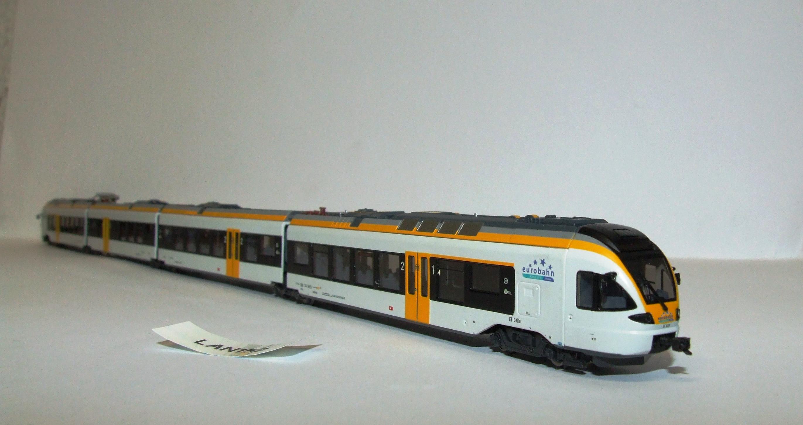 LAN152 Liliput L 163981 Spur N 4 tlg Triebwagen Flirt ET 6.01 Eurobahn EP V/VI