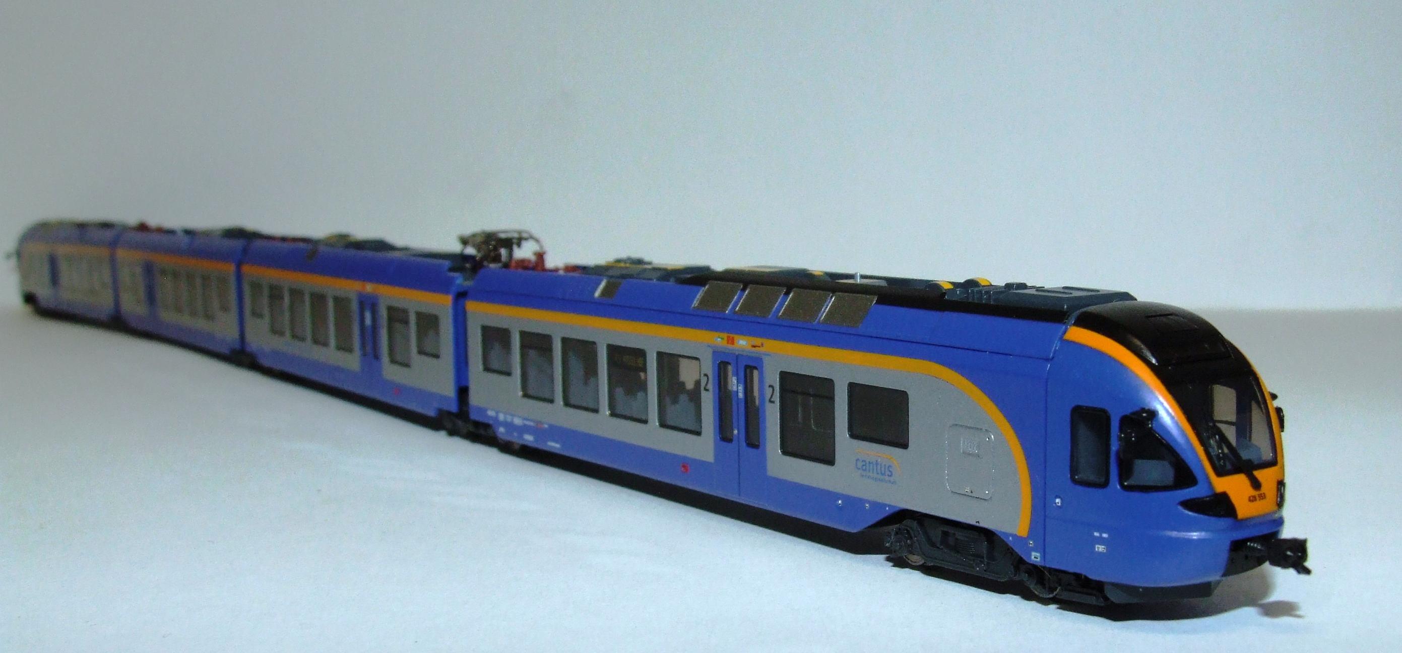 LAN157 Liliput L 163980 Spur N 4tlg. elektr. Triebwagen der Cantus