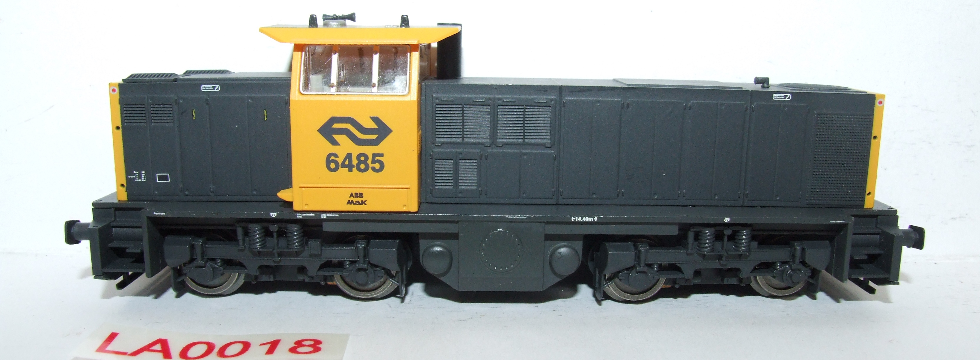 LA0018 Liliput H0 L 112408 Diesellok MAK NS 6485 DC in OVP