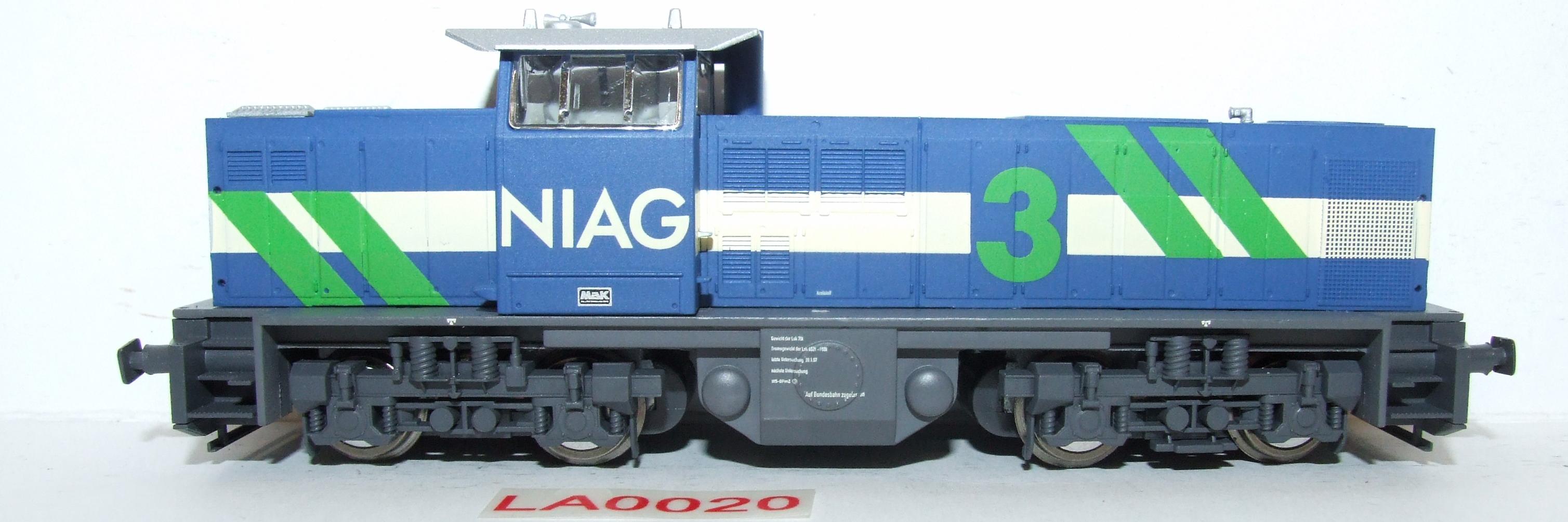 LA0020 Liliput H0 L 112411 Diesellok MAK NIAG DC in OVP