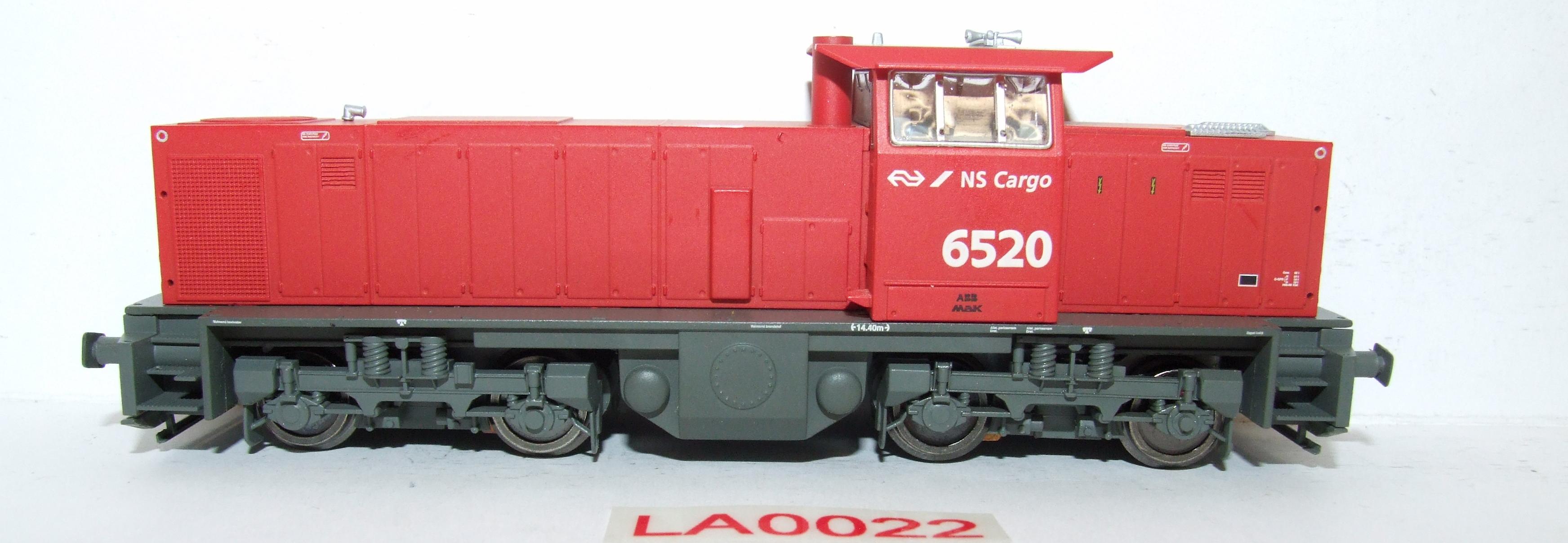 LA0022 Liliput H0 L 112418 Diesel MAK NS Cargo  in OVP