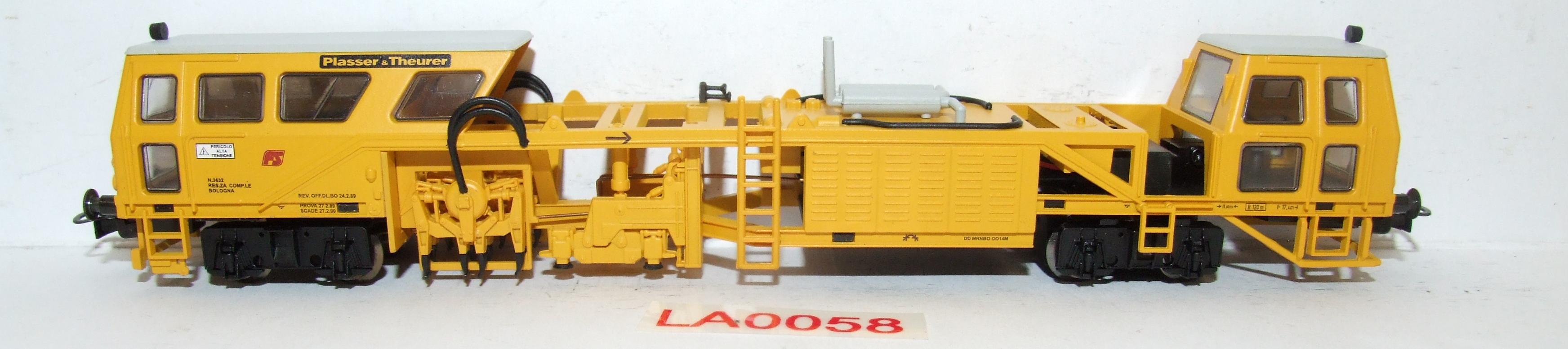 "LA0058 Liliput H0 L 136119 FS Rincalzatrice Bolonga ""Plasser & Theurer"" in OVP"