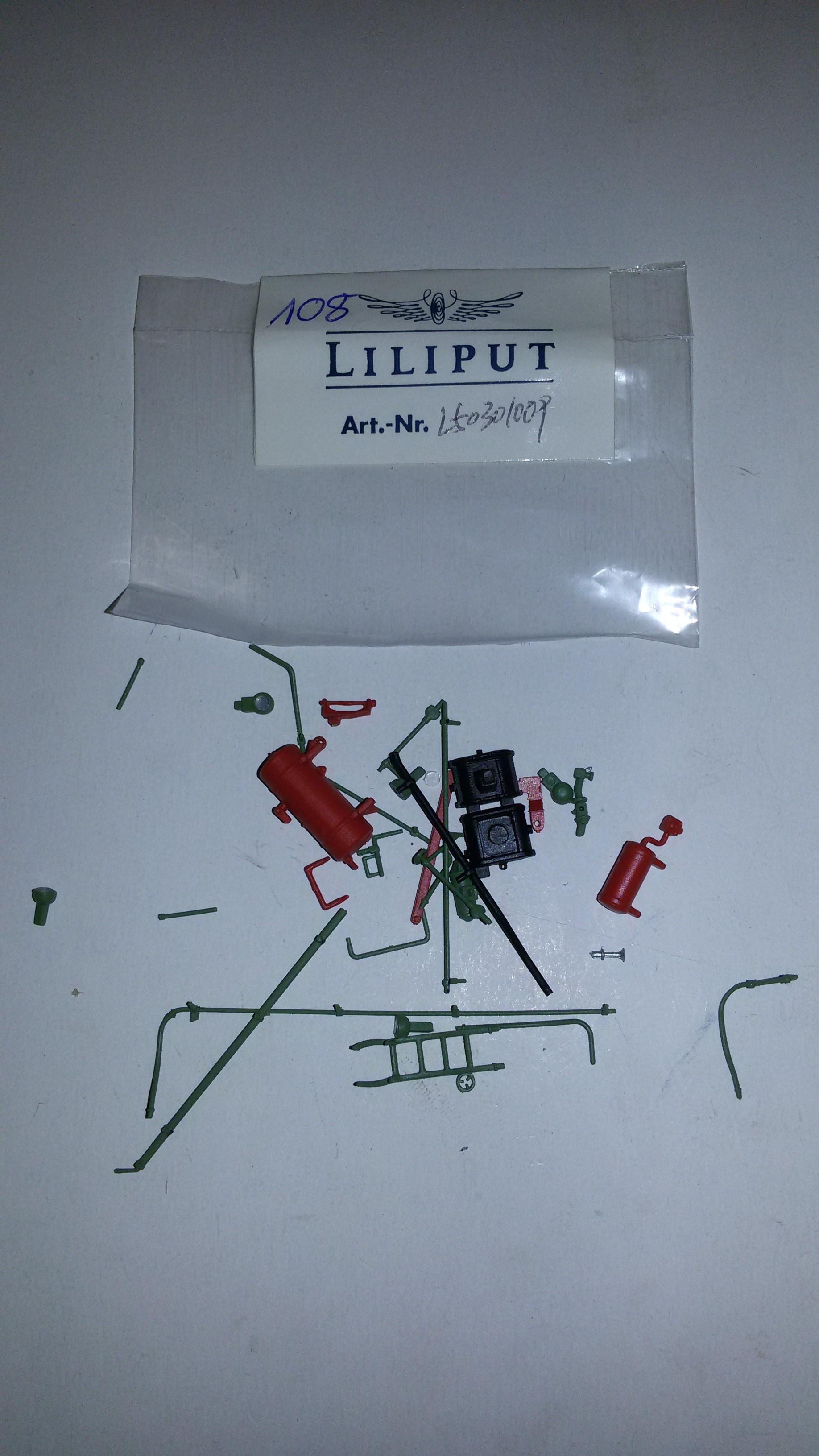 *LO 108* Liliput Ersatzteil L50301009 Zurüstteile Kessel