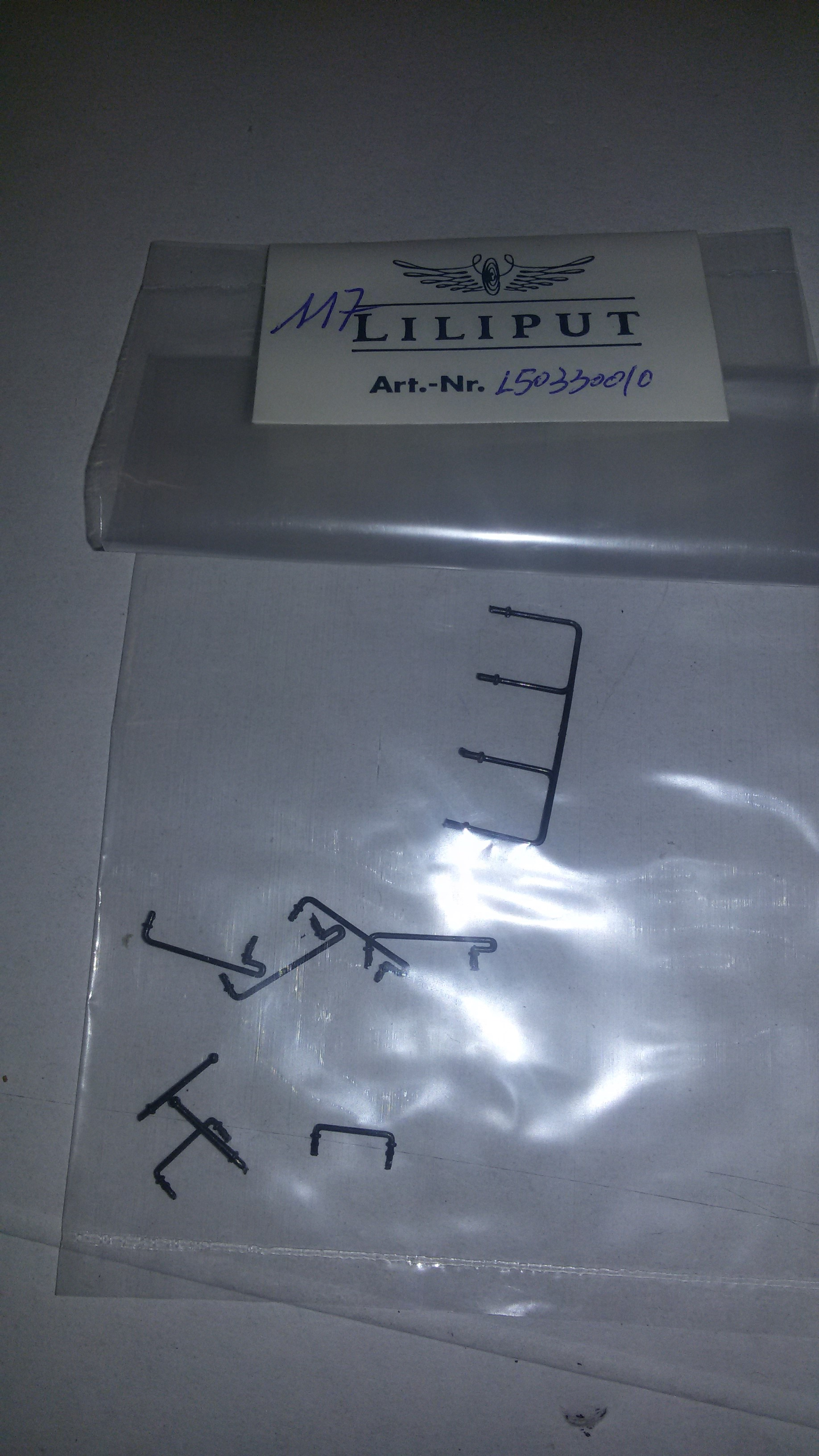 *LO 117* Liliput Ersatzteil L50330010 Griffstangen