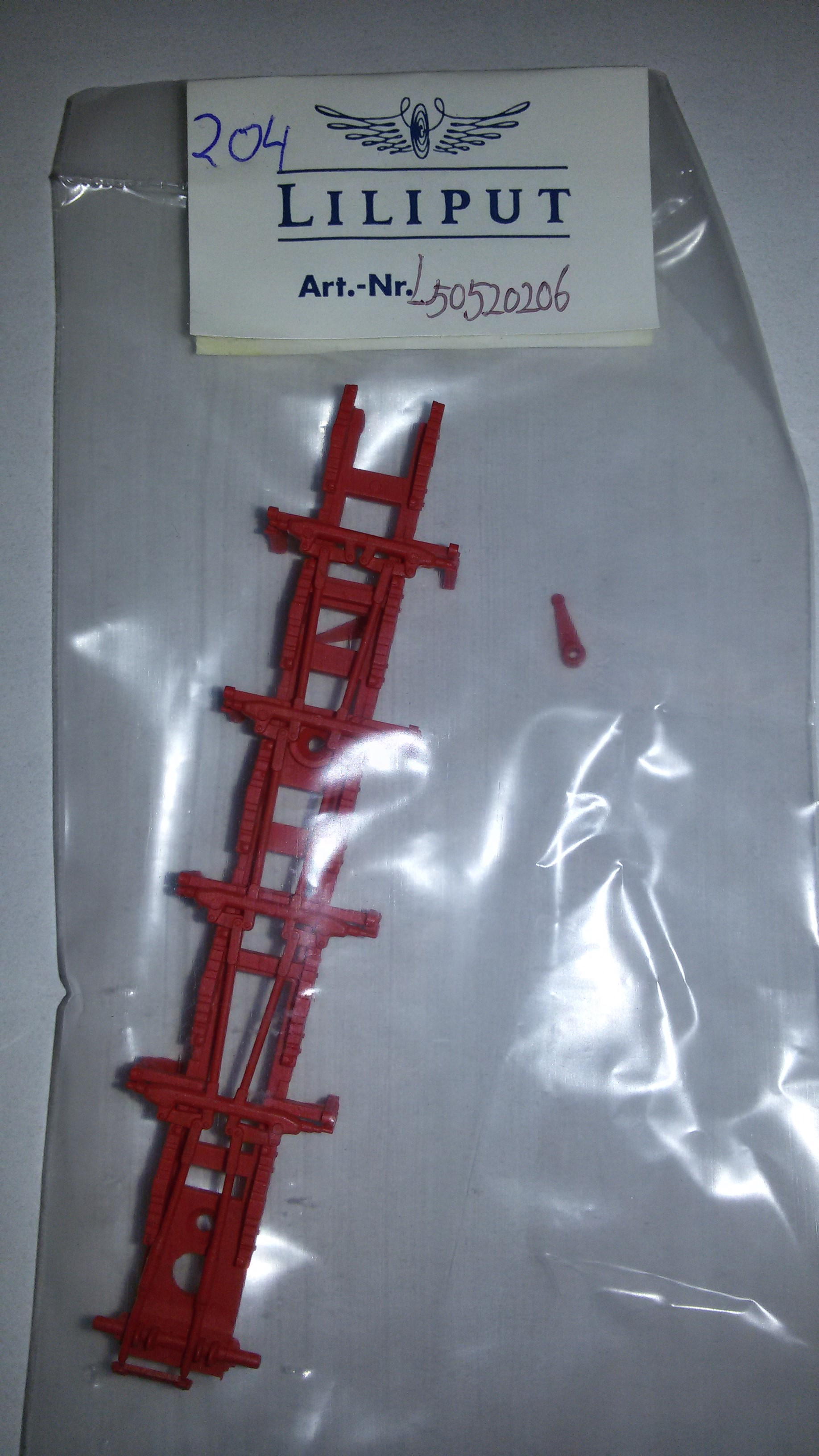 *LO 204* Liliput Ersatzteil L50520206 Rahmenblende