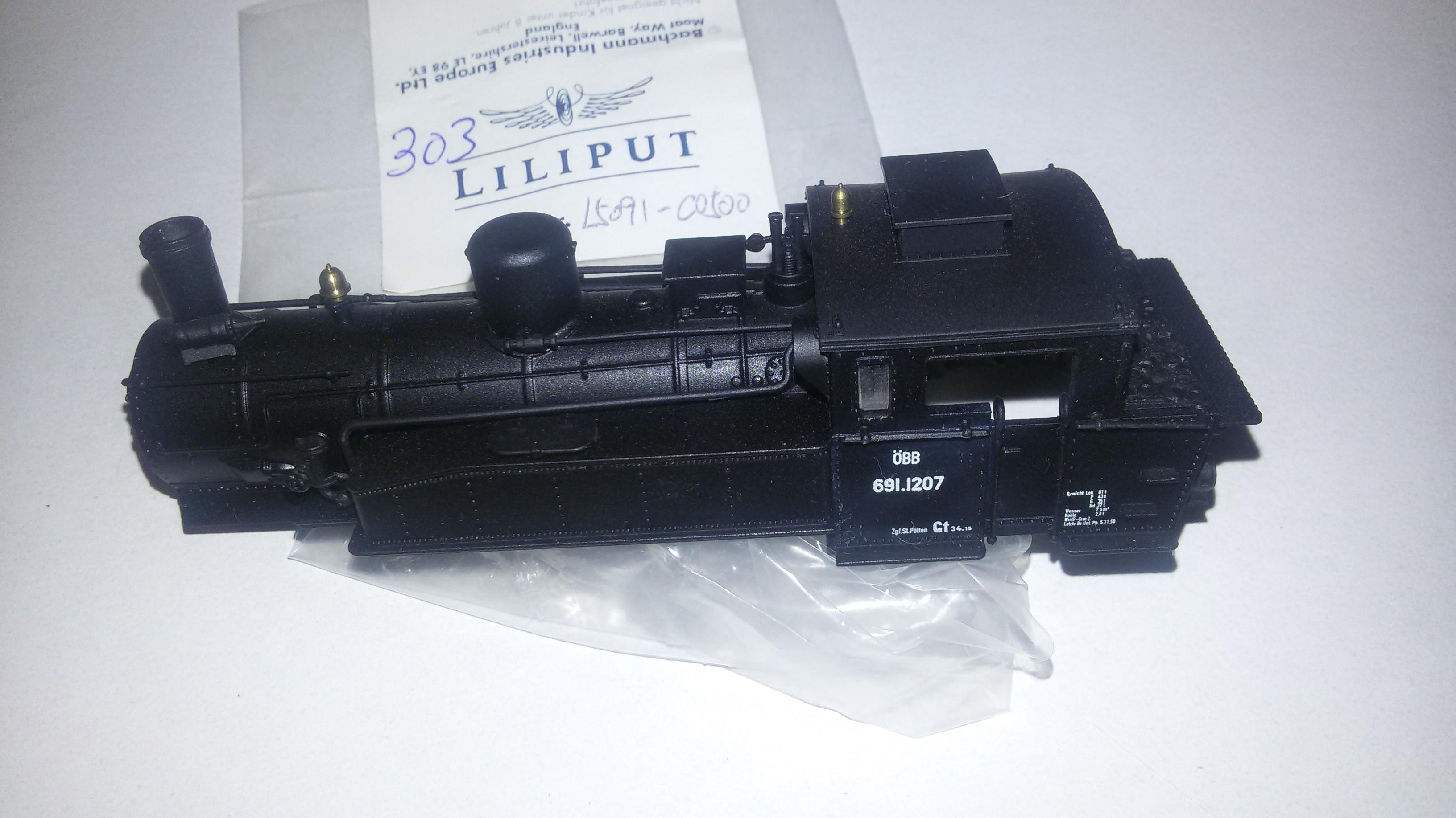 *LO 303* Liliput Ersatzteil L50910500 Lokgehäuse ÖBB 691.1027