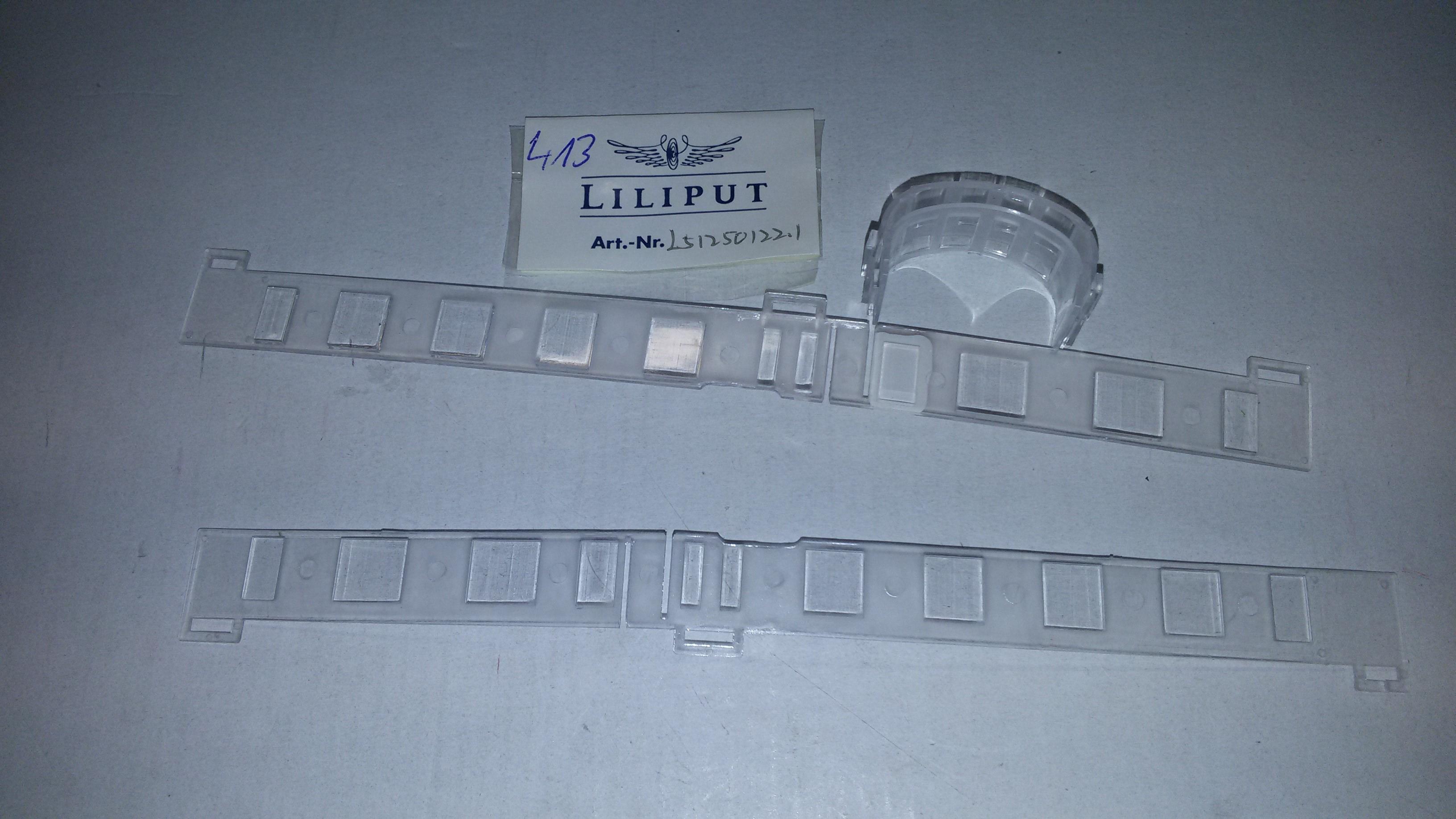 *LO 413* Liliput Ersatzteil L51250122.1 Fenster