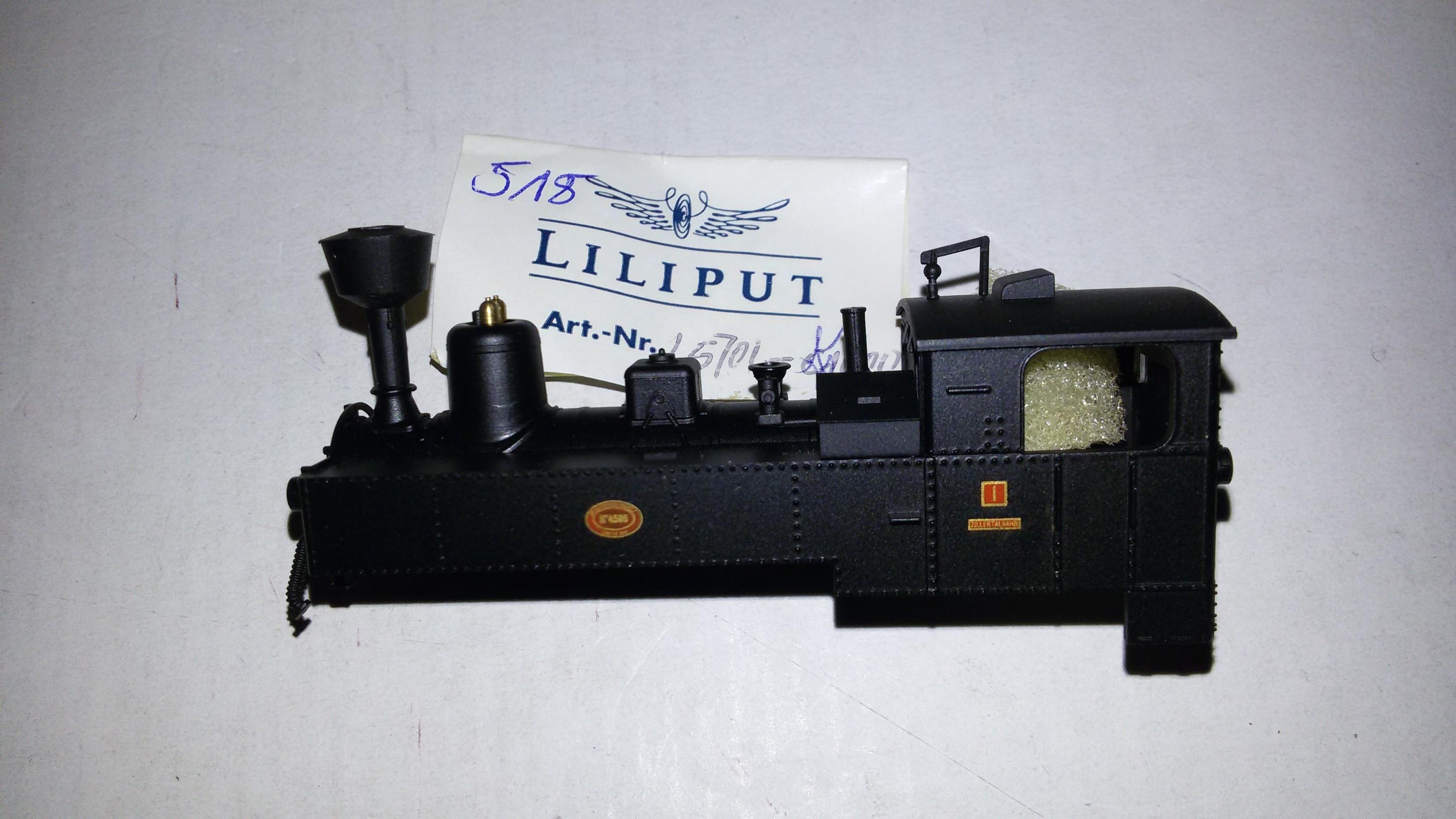 *LO 518* Liliput Ersatzteil L57011000 Lokgehäuse L170110