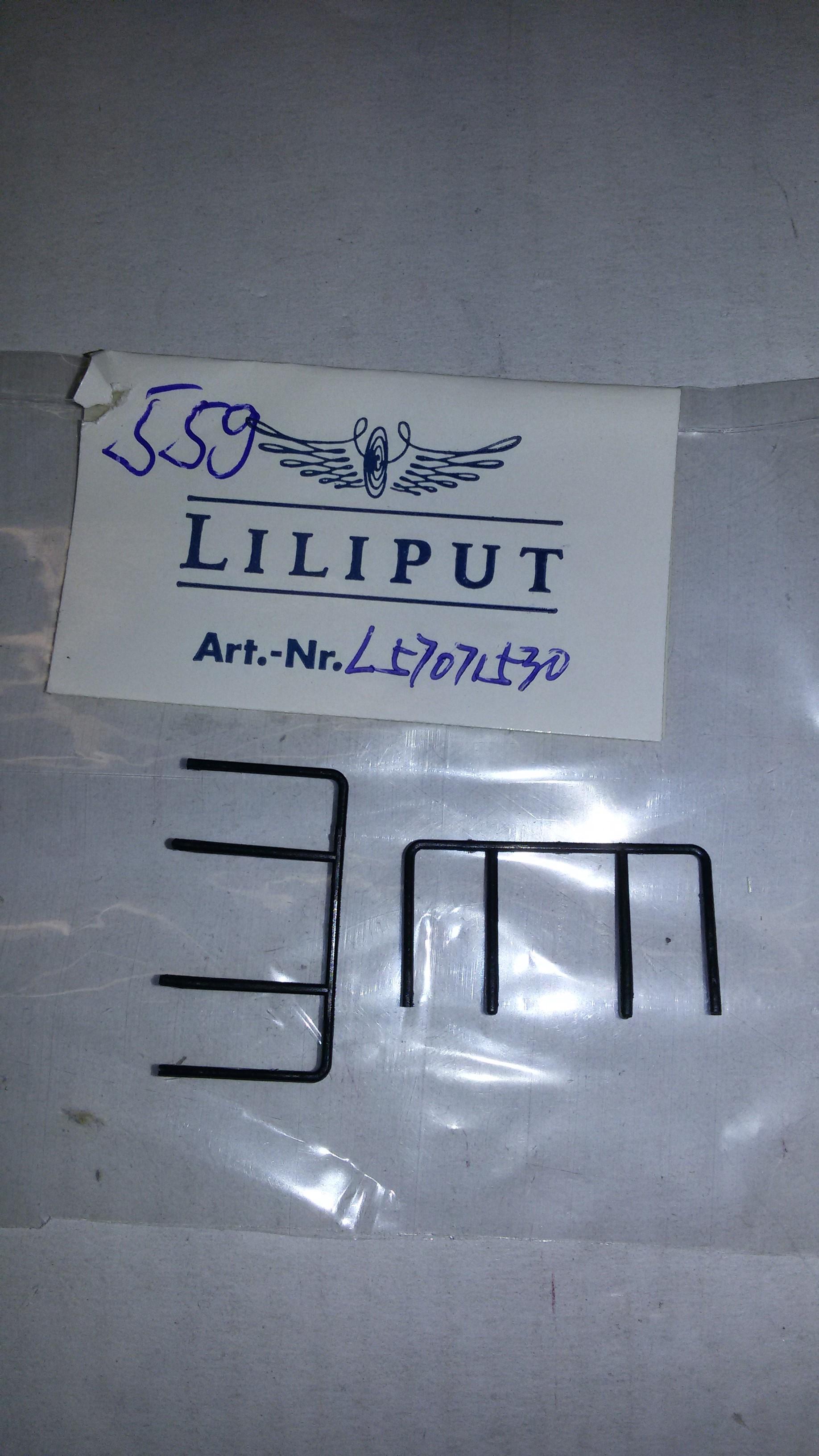 *LO 559* Liliput Ersatzteil L57071530 Geländer vorn/hinten L170715