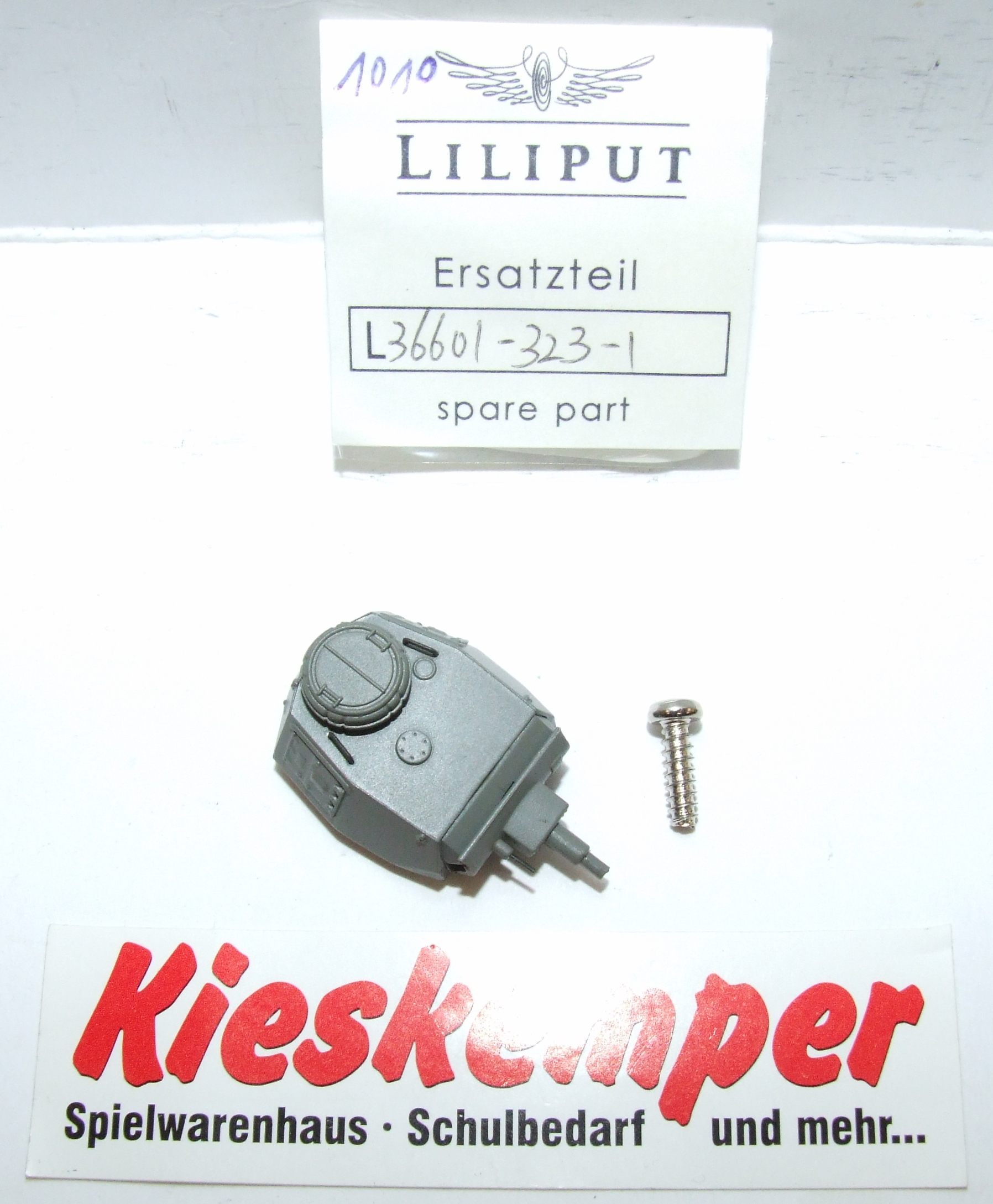 LO1010 Liliput H0 L 366013231 Geschützturm komplett grau Ersatzteil für Panzer Zug Wehrmacht