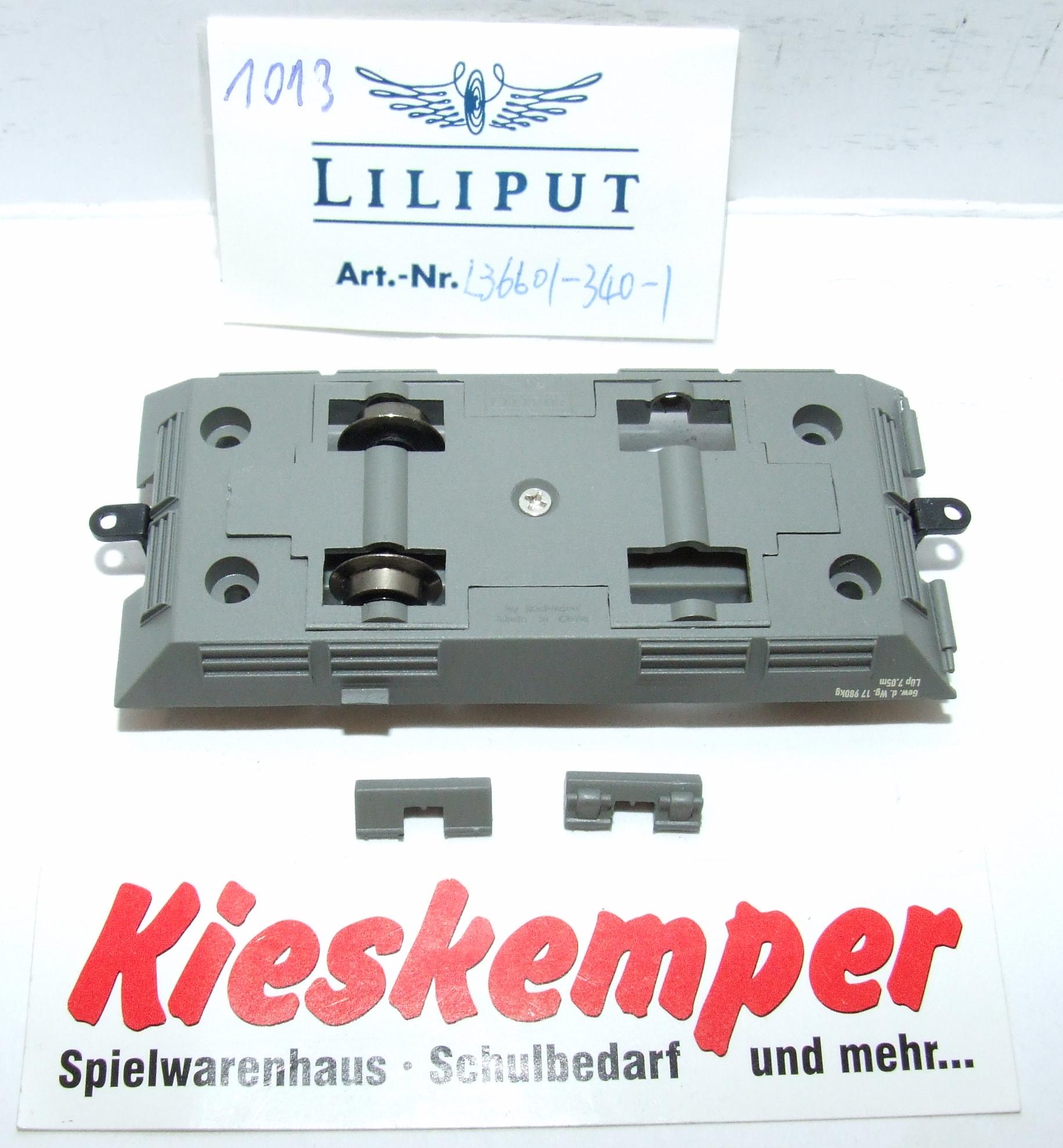 LO1013 Liliput H0 L 366013401 Fahrgestell grau DC Ersatzteil für Panzer Zug Wehrmacht