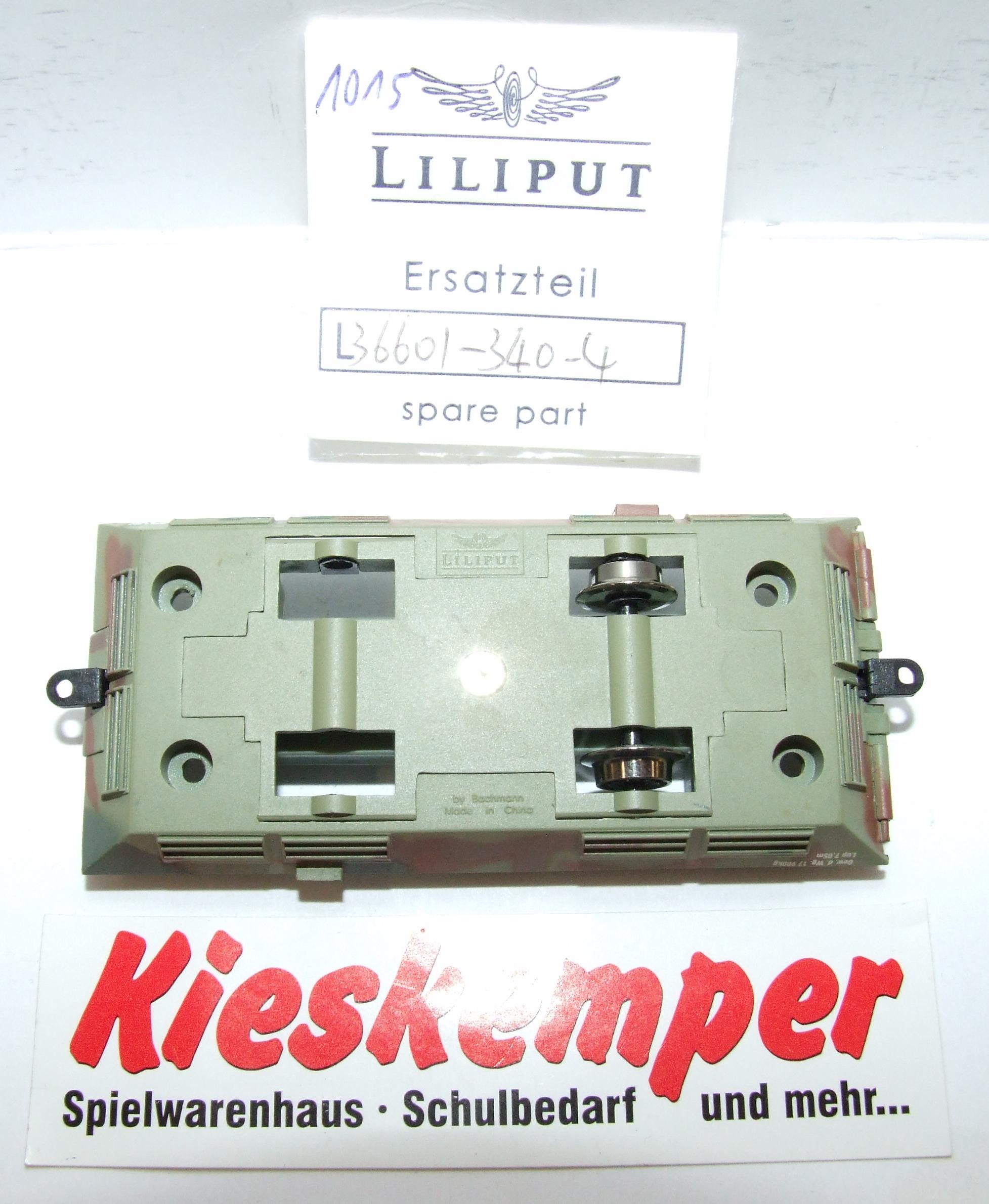 LO1015 Liliput H0 L 366013404 Fahrgestell tarn DC Ersatzteil für Panzer Zug Wehrmacht