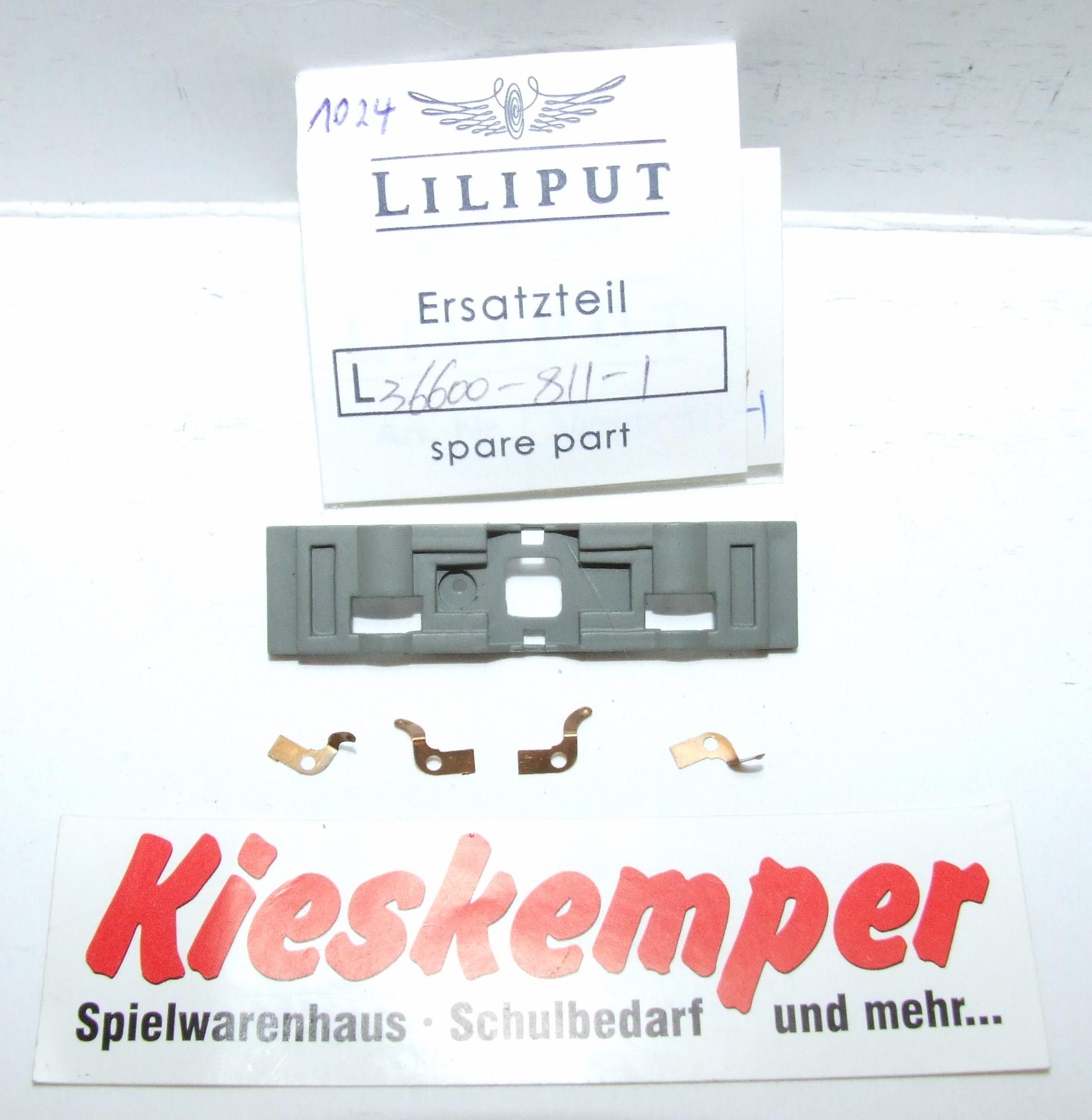 LO1024 Liliput H0 L 366008111 Radkontakte (grau) Ersatzteil für Panzer Zug Wehrmacht