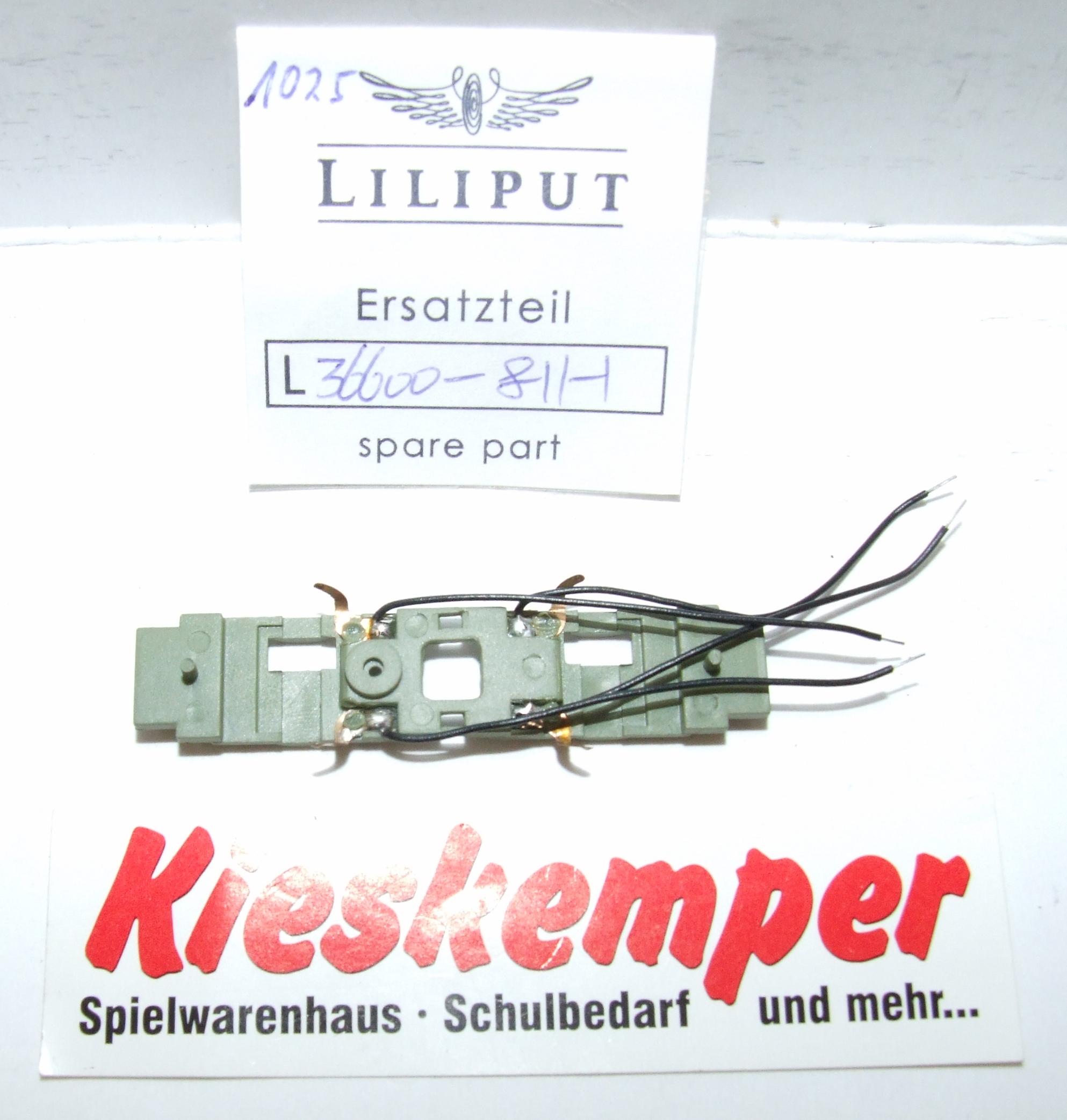 LO1025 Liliput H0 L 366008111 Radkontakte komplett (grün) Ersatzteil für Panzer Zug Wehrmacht