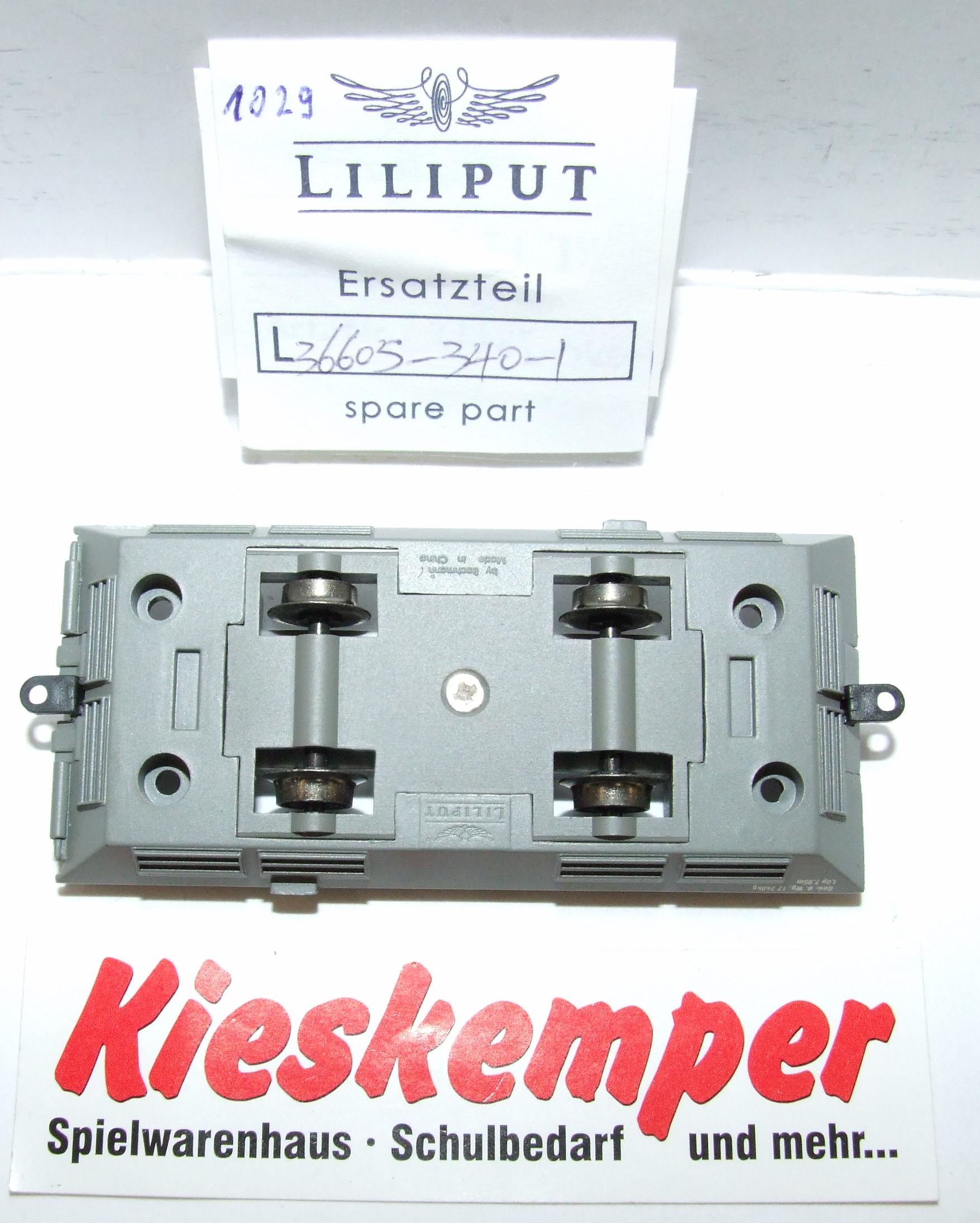 LO1029 Liliput H0 L 366053401 Fahrgestell grau DC Ersatzteil für Panzer Zug Wehrmacht
