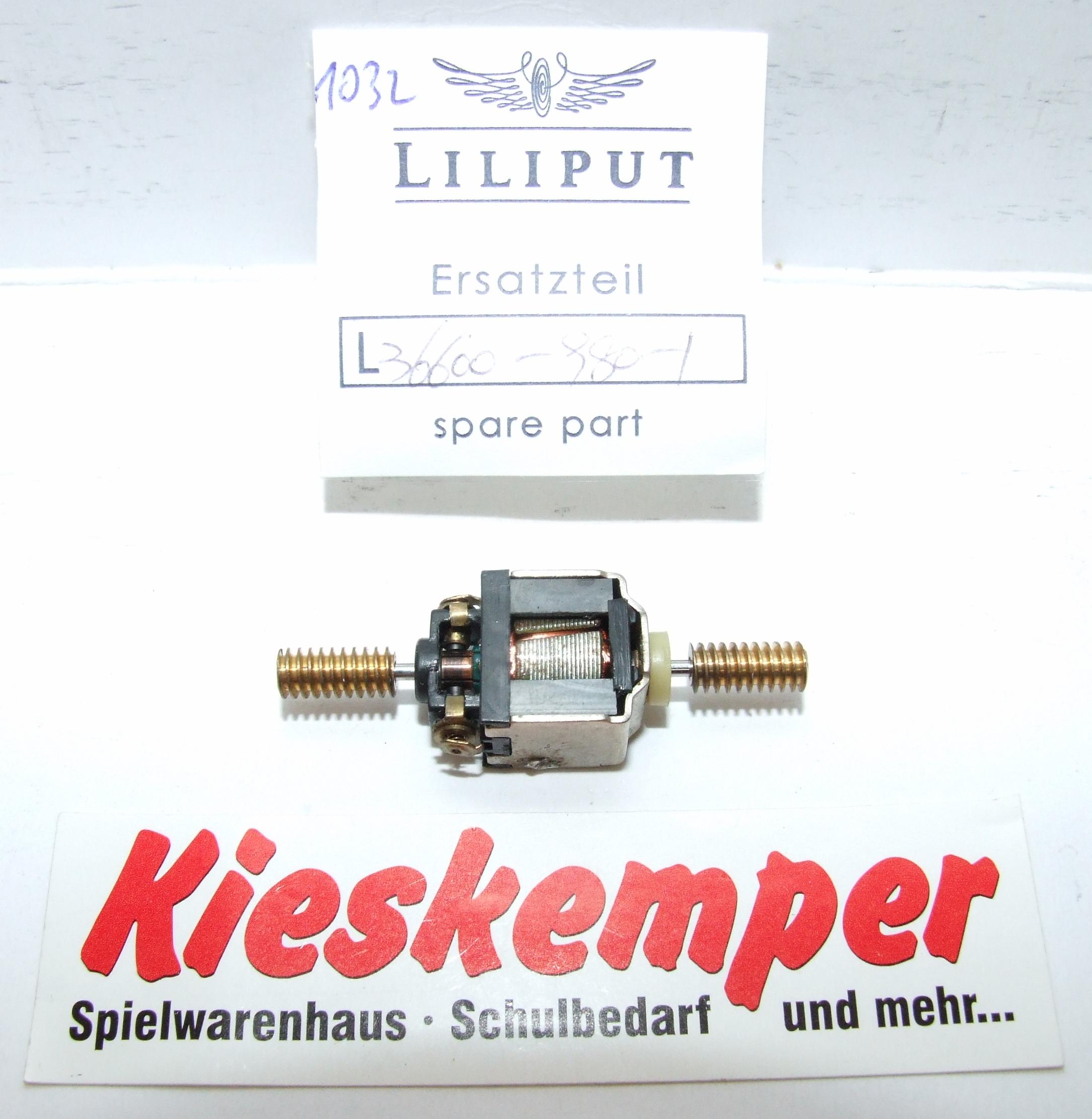 LO1032 Liliput H0 L 366009801 Motor Ersatzteil für Panzer Zug Wehrmacht