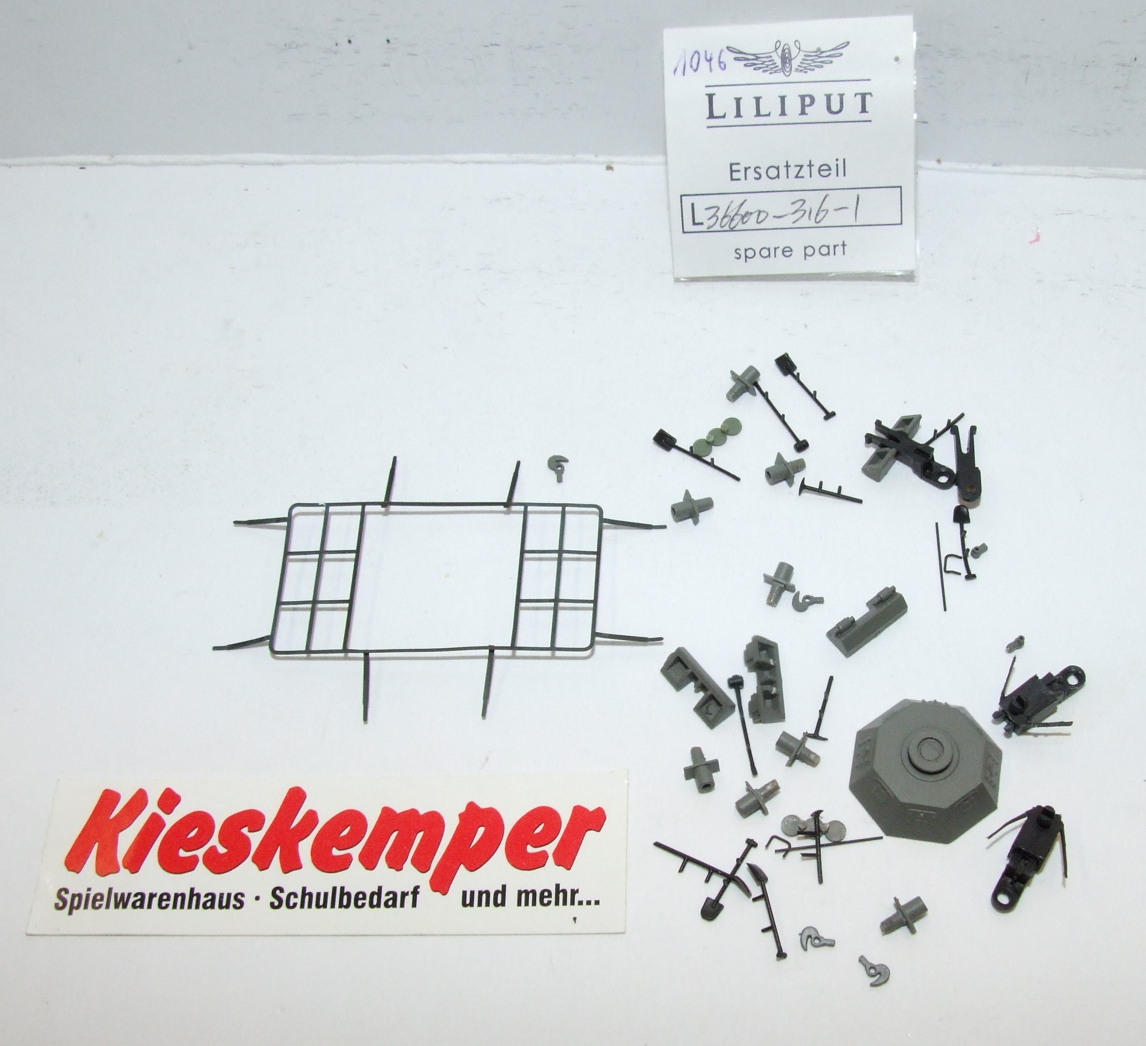 LO1046 Liliput H0 L 366003161 Gehäuse Aufsteckteile Rahmenantenne  Ersatzteil für Panzer Zug Wehrmacht