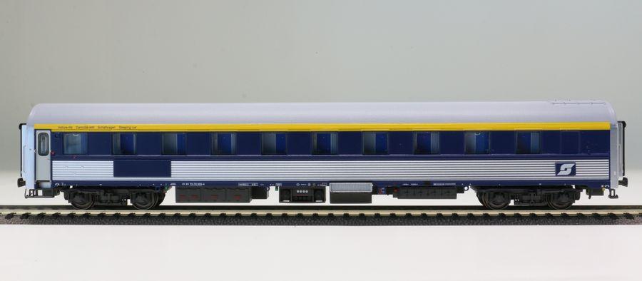 Ls Models 47033 perosnenwagen WL a partir de Inox blu ÖBB DC