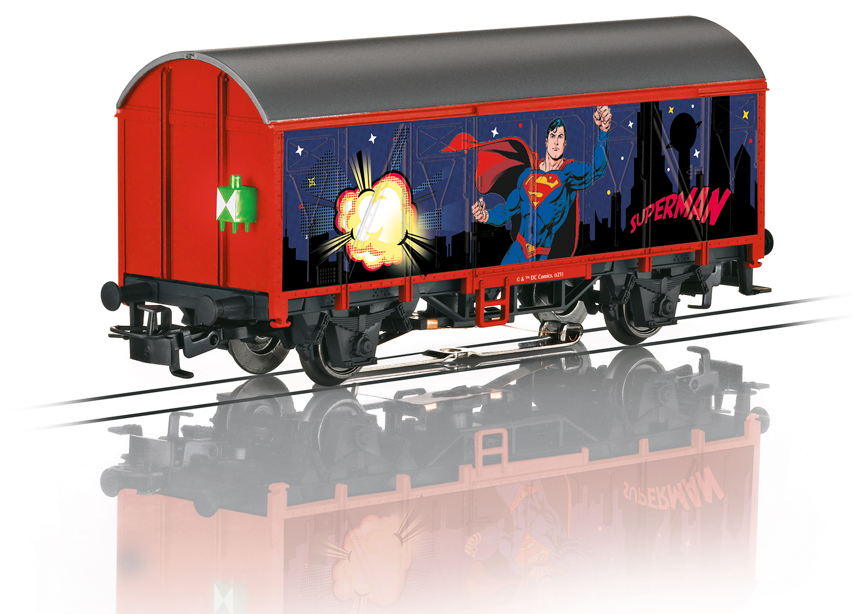 VO Märklin 44825 Spur H0 Ged. Güterwagen Superman