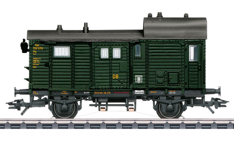 VO Märklin 46986 MHI Güterzug-Gepäckwagen Pwg DB