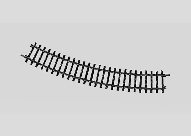 Märklin 2221 Gleis geb.r360 mm,30 Gr.