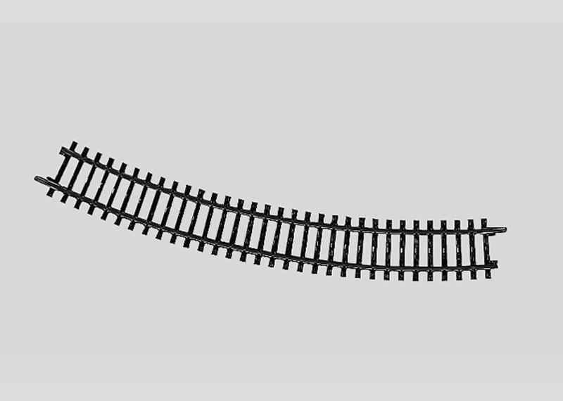 Märklin 2231 Gleis geb.r424,6 mm,30 Gr.