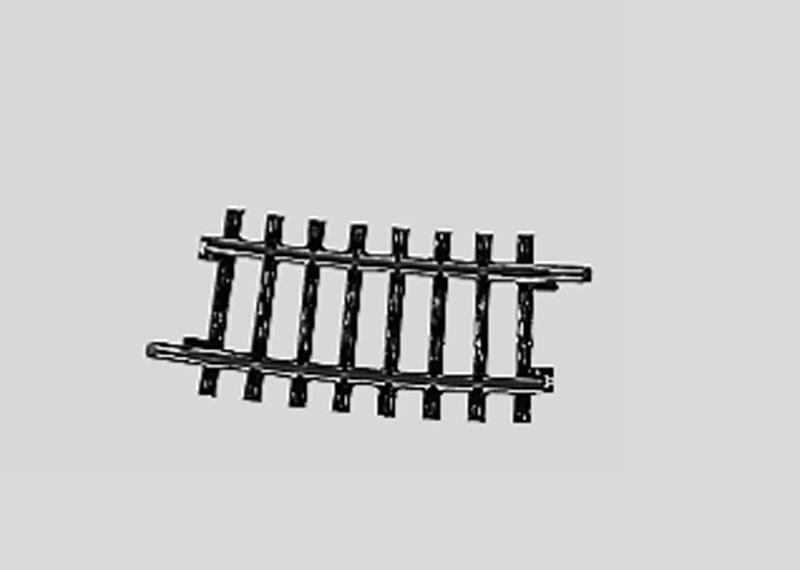 Märklin 2234 Gleis geb.r424,6 mm,7 Gr.30'