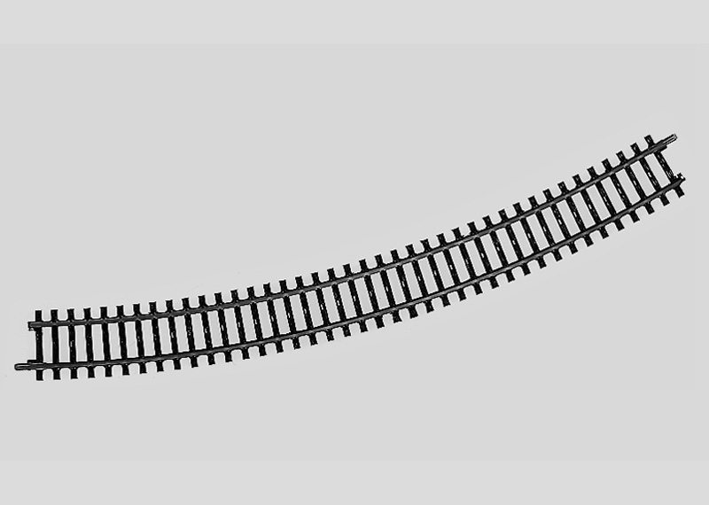 Märklin 2241 Gleis geb.r553,9 mm,30 Gr.