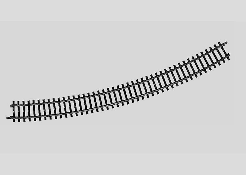 Märklin 2251 Gleis geb.r618,5 mm,30 Gr.