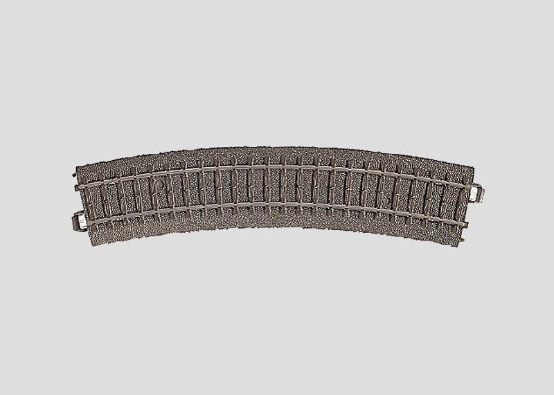 Märklin 24224 Gleis geb.r437,5 mm,24,3 Gr.