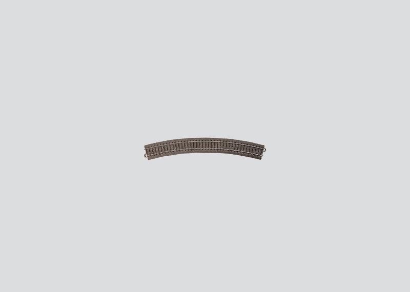 Märklin 24430 Gleis geb.r579,3 mm,30 Gr.