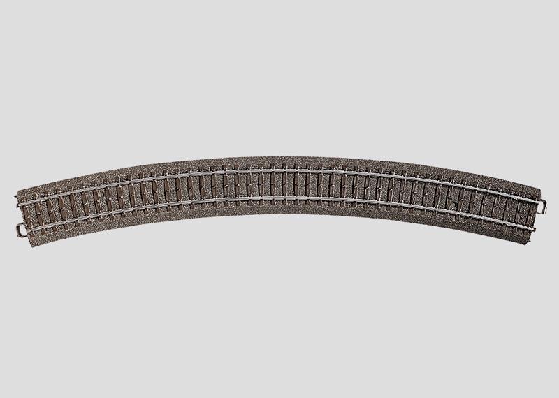 Märklin 24530 Gleis geb.r643,6 mm,30 Gr.