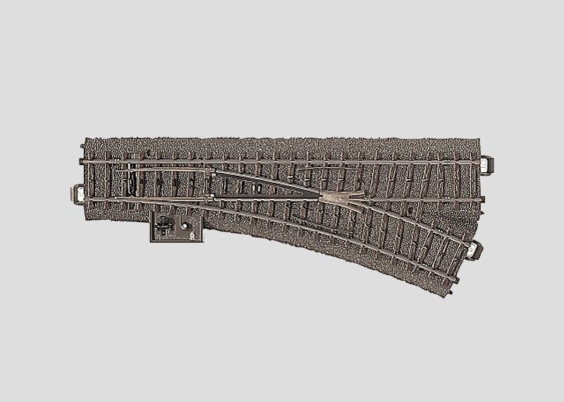 Märklin 24612 C-Gleis Weiche rechts r437,5 mm,24,3