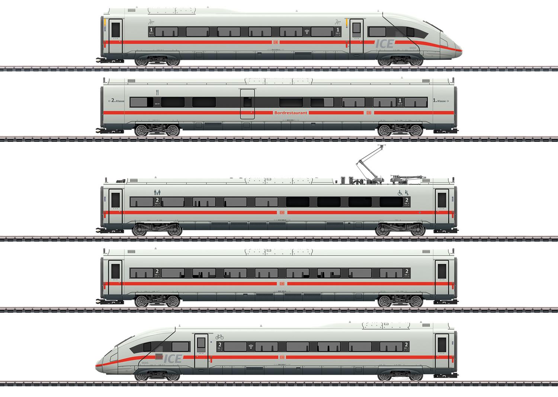 VO Märklin 39714  Hochgeschwindigkeitszug ICE 4
