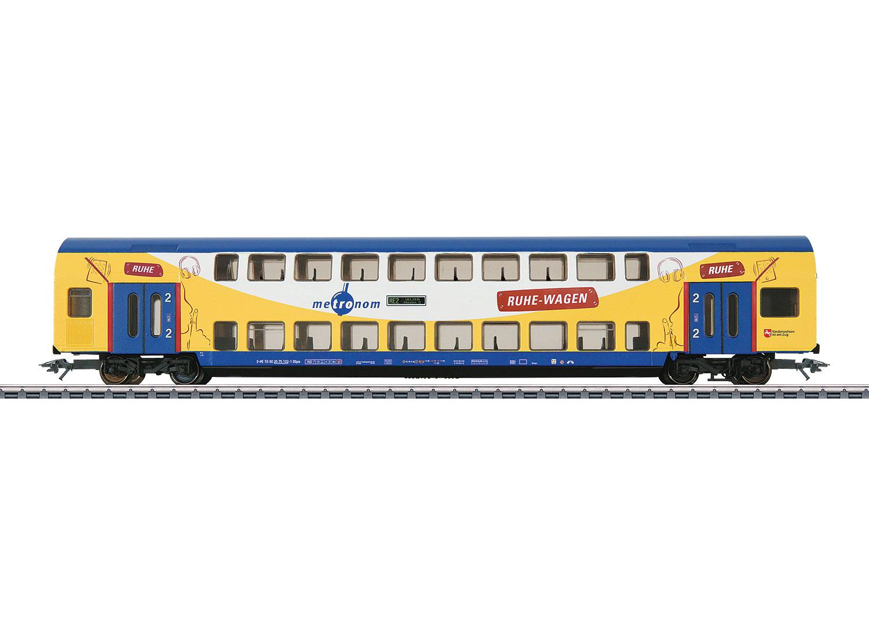 Märklin 43572  Doppelstock-Mittelwagen Metronom