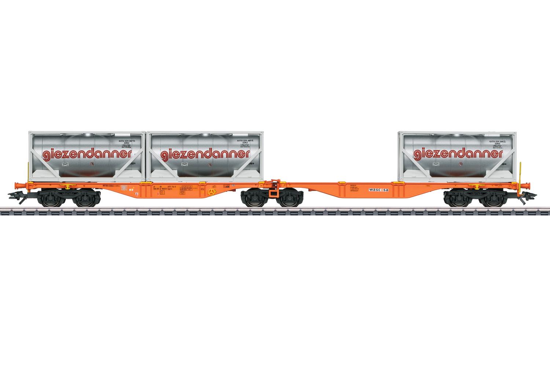 VO Märklin 47805  Doppel-Tragwagen Sggrss80 Was