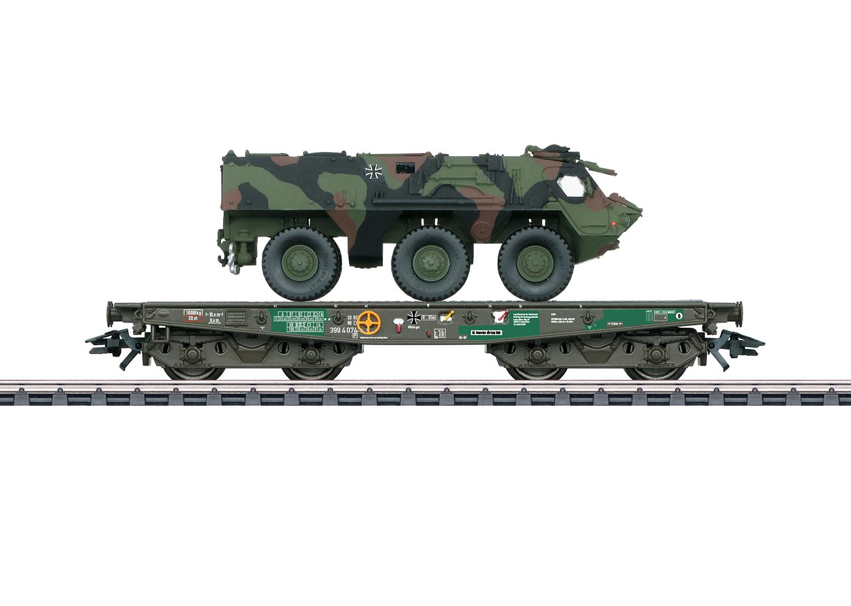 Märklin 48794  Schwerlastwagen m.Fuchs tarn BW AC