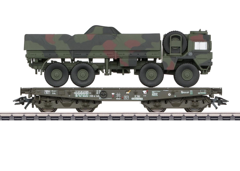Märklin 48797 Schwerlastwagen m.MAN 10 t milg gl tarn BW AC