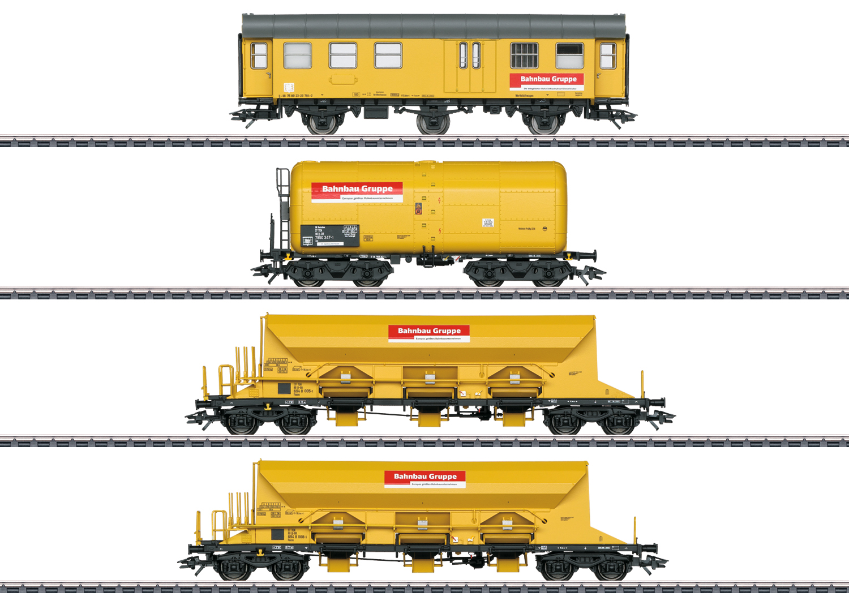 VO Märklin   MHI 49969 Wagen-Set Bahnbau Gruppe