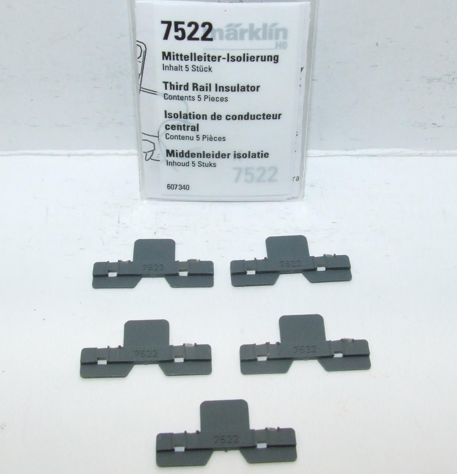 Märklin 7522 Mittelleiter Isolierung