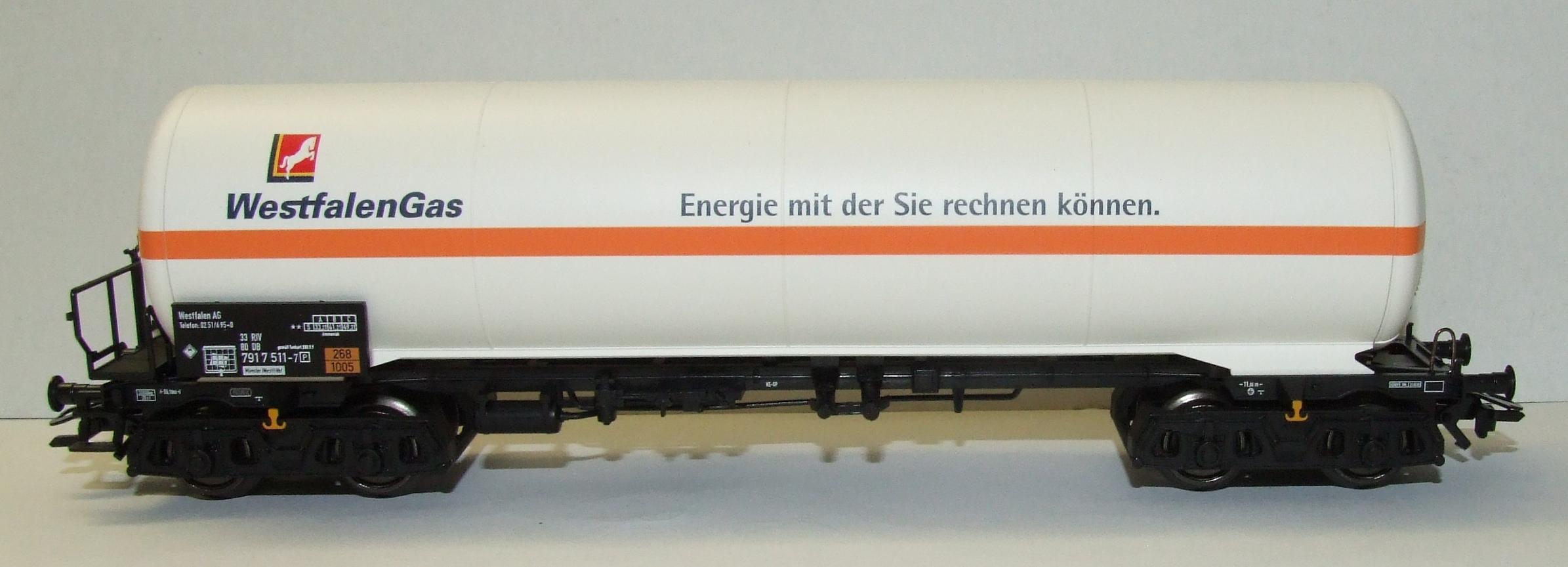 Märklin 94413 Kesselwagen Westfalengas limitiertes Sondermodell H0 AC