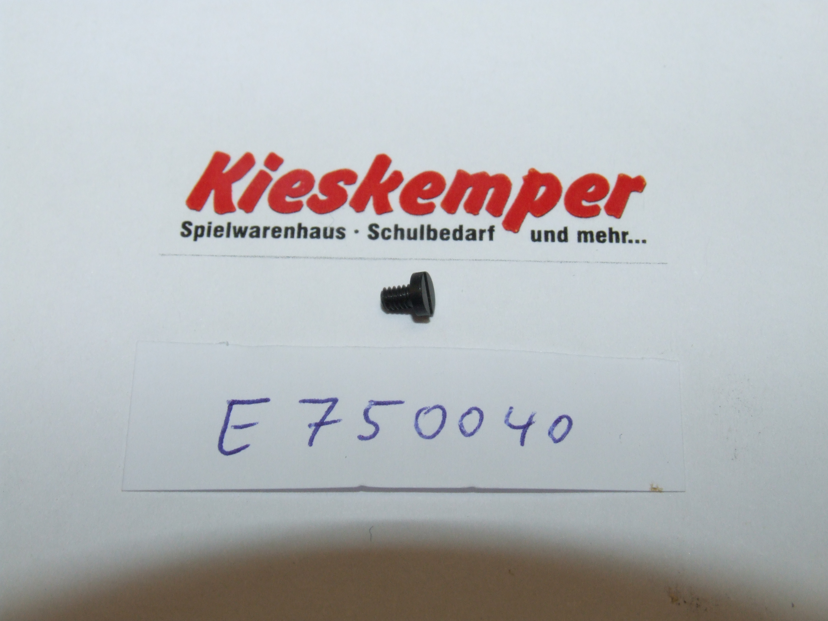 Märklin 750040 SCHRAUBE ZYL.M2X2,8 ST/BR