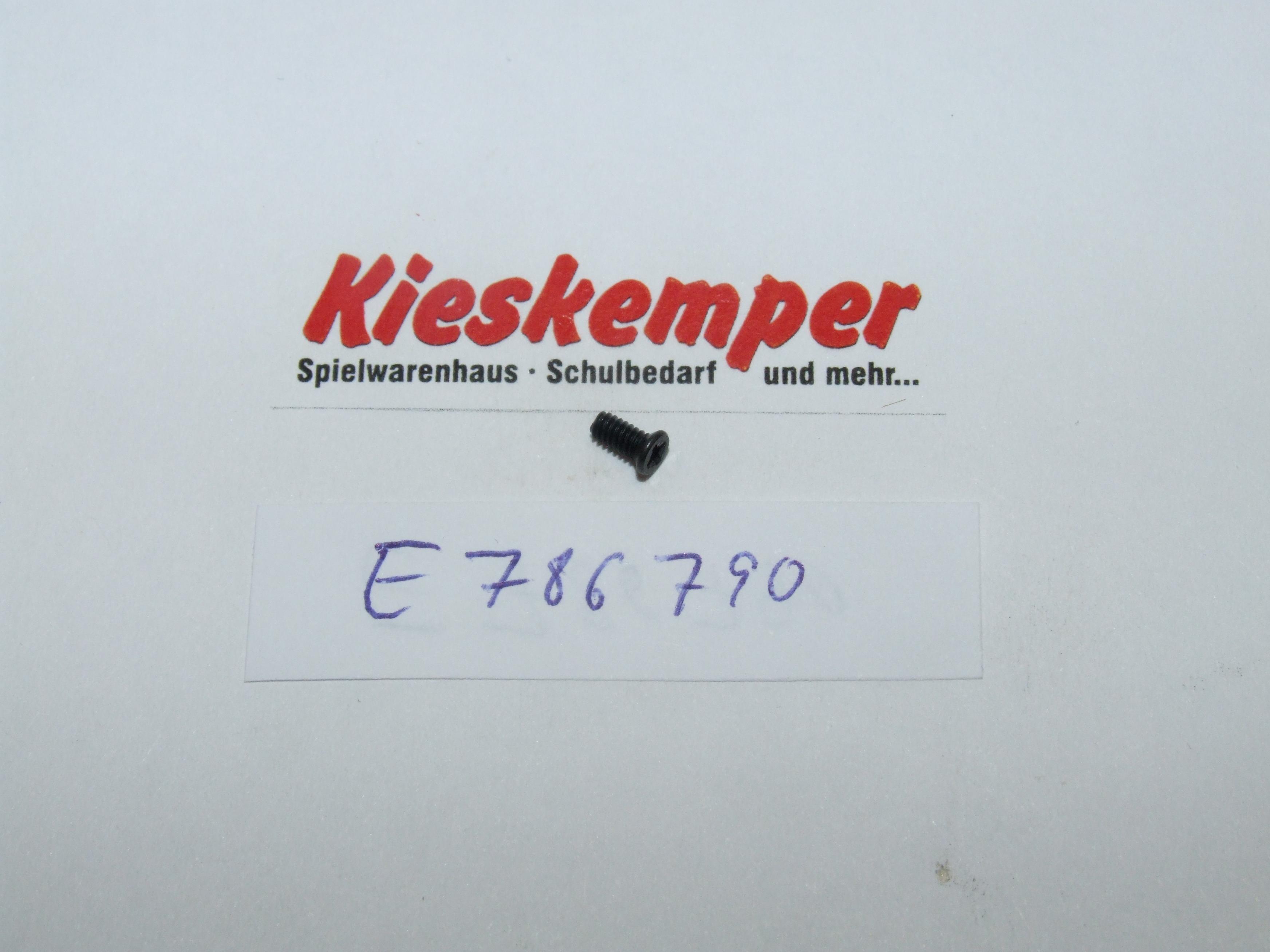 Märklin 786790 Senkschraube TAP 2X4,6