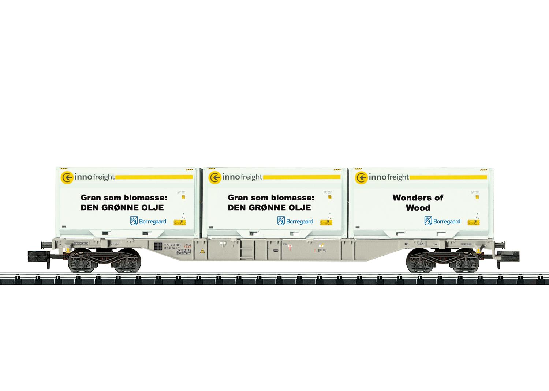 VO Trix 18408 Spur N Container-Tragwagen Innofreig