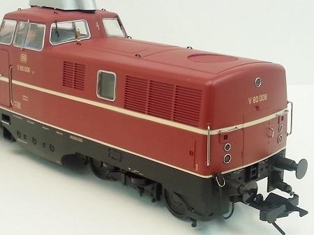 MBW Spur 0 43015 A Diesellok V 80 DB Ep III V 80 005 analog