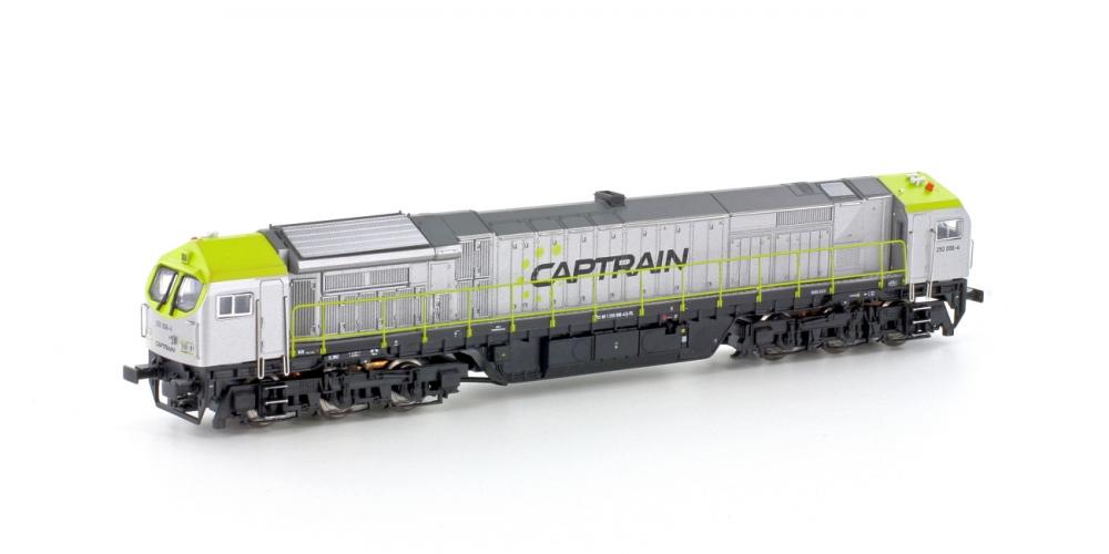Mehano 58856 Spur N Diesellok Blue Tiger II Captrain Ep.VI