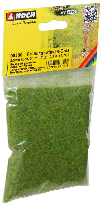 NOCH 08300 Frühlingswiesen-Gras, 20 g - Beutel